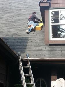 Foam on Roof