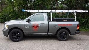 Troy, MI Bat Control Truck